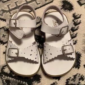 Footmates Ariel size 5. White sandals